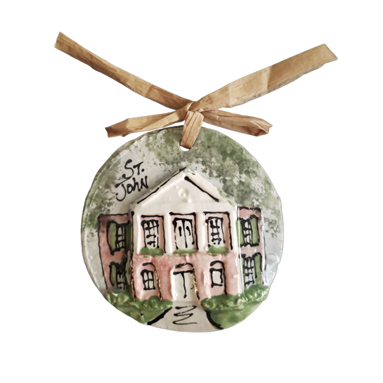 Saint John Elementary School Franklin Ornament