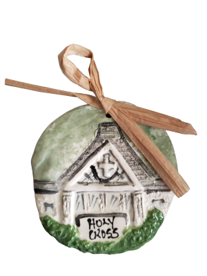Holy Cross Church Ornament