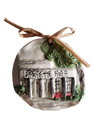 Lafayette High School Ornament